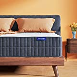 Sweetnight Queen Mattress-Queen Size Mattress,10 Inch Gel Memory Foam mattress for Back Pain Relief /Motion Isolation & Cool Sleep, Flippable Comfort from Soft to Medium Firm,Sunkiss