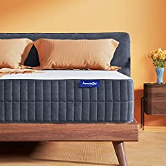 FLIPPABLE QUEEN MATTRESSES -- Sweet night Queen size mattress is designed to be flippable with unique 4 layered & zoned foam design. Allow you to sleep on either side. Its like having 2 in 1. 2 inch of gel infused memory foam on the top keeps you coo...