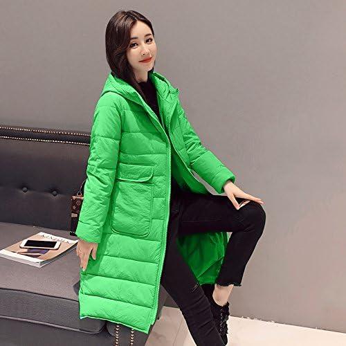 Xuanku VêteHommests en Coton Fin d'hiver Les Femmes Long, Même Cap Manteau Veste Femme Coton Plumes