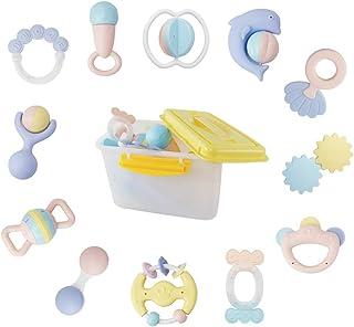 EARSOON Baby Rasseln und Spielzeug Geschenkset Hand Jingle