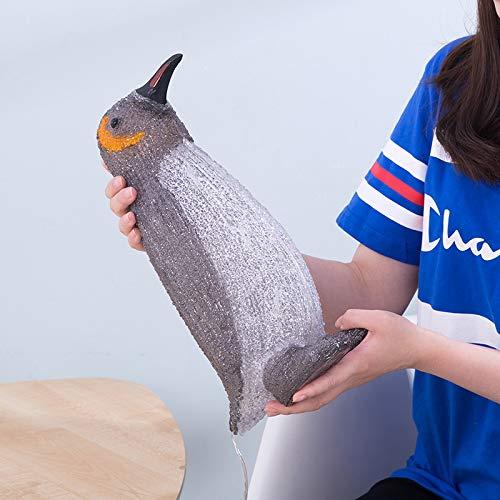 Pinguin Laterne 3D Tischlampe Schlafzimmer Nachttischlampe LED Nachtlicht Neues exotisches 3D visuelles Licht Gro?er wei?er Pinguin 220