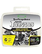 SOFTSPIKES Tornado Golf Cleats Tacos, Unisex Adulto, Plata, 18 Piezas