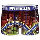 FREEGUN Boxer Sonic The Hedgehog Talla S, Unitario T142-1, Hombre