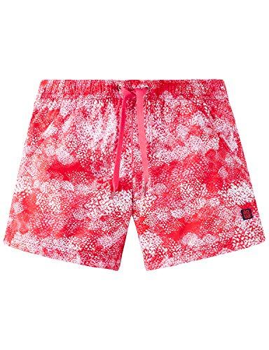 Schiesser Mädchen Badeshorts Beach-Shorts, Mehrfarbig (Orange 602), 140