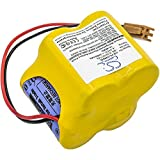 Lithium Backup PLC BR-2/3AGCT4A Battery for Panasonic FANUC Robot Controllers, 18-T Series, Alpha iSV CNC System Amplifier Replacement for P/N A98L00310025, A98L-0031-0025, BR2/3AGCT4A