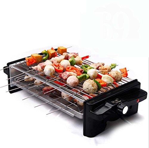 Huaishu Koreaanse stijl BBQ Huishoudelijke Elektrische Barbecue Oven Niet-roken Non-stick Pan Barbecue Machine Dubbele laag Barbecue Grill