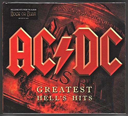 AC/DC Hell's Hits 2015 tour edition 2CD set DigiPak