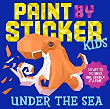 Paint By Sticker Kids Under The Sea