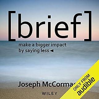 Brief audiobook cover art