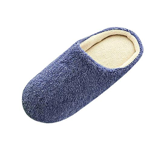 House Slippers for Women Memory Foam Gibobby Women's Memory Foam House Slippers Comfort Wool-Like Plush Fleece Lined House Shoes for Indoor & Outdoor