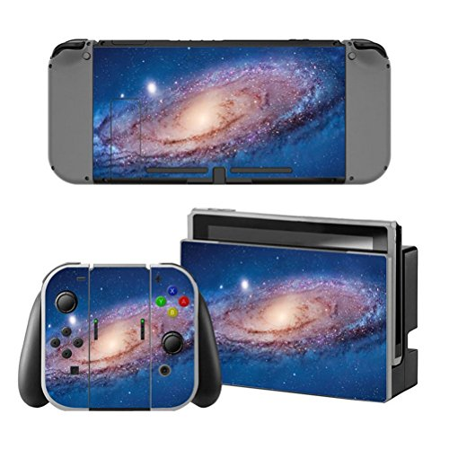 Chickwin Beschermende Vinyl Decal Skin Sticker Full Body Cover voor Nintendo Switch Console met Joy sticker Skins+ 2 Thumb Grips