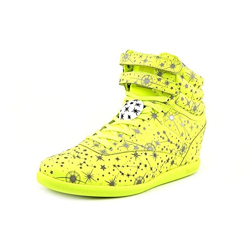 Reebok Classic x Melody Ehsani Constellation Pack Hi Int Women's Wedge Yellow/Silver/White M47470 (Size: 11)