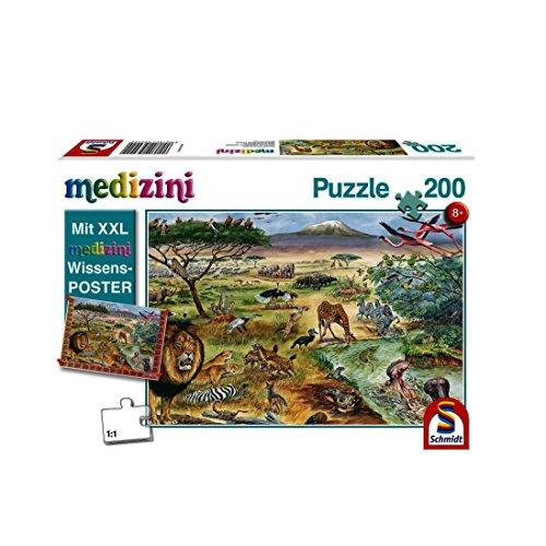 Puzzle Infantil de Animales en África Oriental (200 Piezas) (56292)