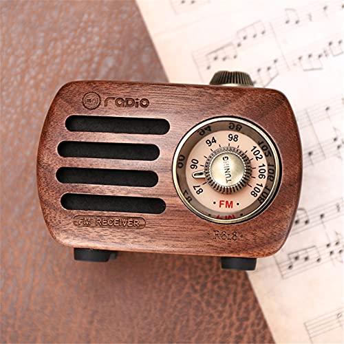 radio madera de la marca KANGLE-DERI