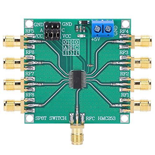 Interruptor de tiro de poste ocho del RF solo, hecho de la luz teledirigida plástica de la pérdida de inserción de las redes del área
