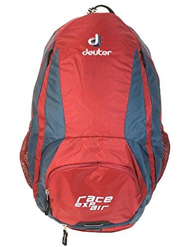 Deuter Race EXP Air Mochila para Ciclismo, Unisex Adulto, Rojo 12 l