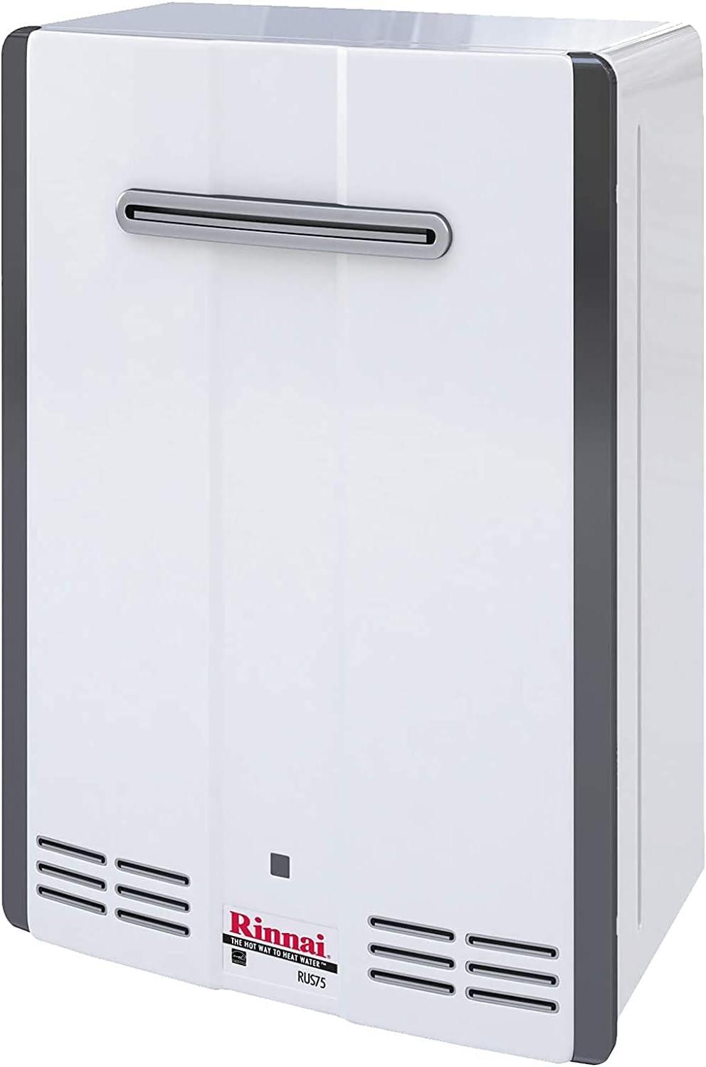 Rinnai RUS75eN Hot 至上 Water Heater 人気 Installation GPM Outdoor 7.5