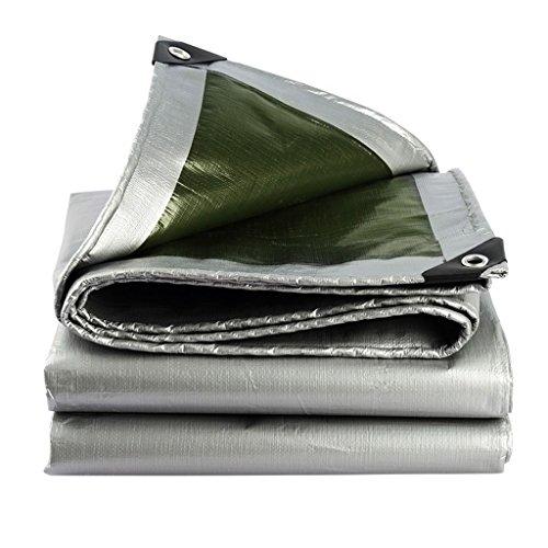 Revestimiento de polietileno de plata de la lona Lluvia y oxidación al aire libre Aislamiento térmico de la caravana de la cortina de sol 180g / m2, 18 tamaños disponibles Impermeable y duradero