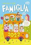 Calendario della famiglia 2022 da parete (26,5 x 38,5)