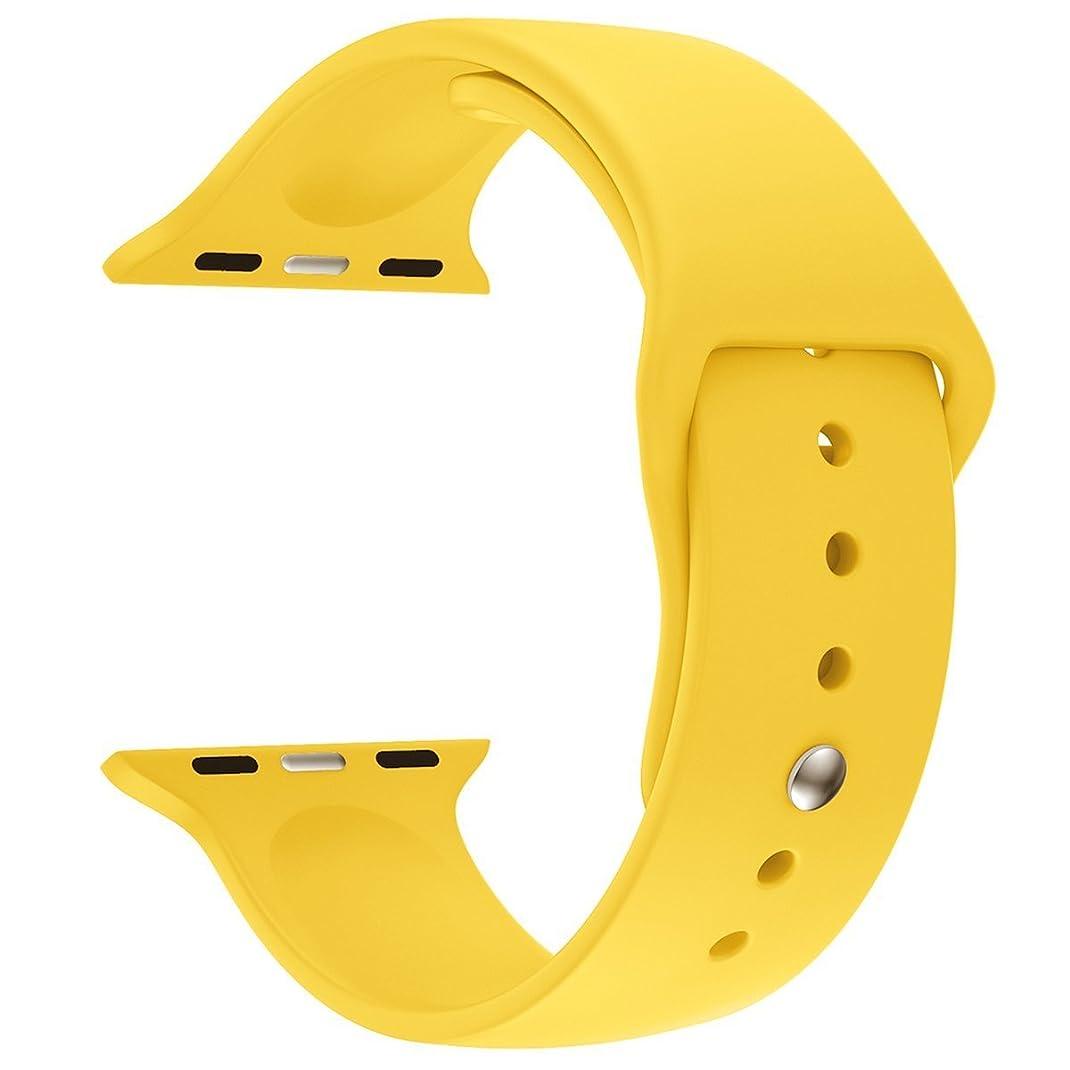 圧力ドット満了BAB? 38mm 42mm iwatchベルト 時計バンド 腕時計ベルトアップルウォッチ スポーツバンド ソフト 高級感 シリコーン 製 交換ベルト