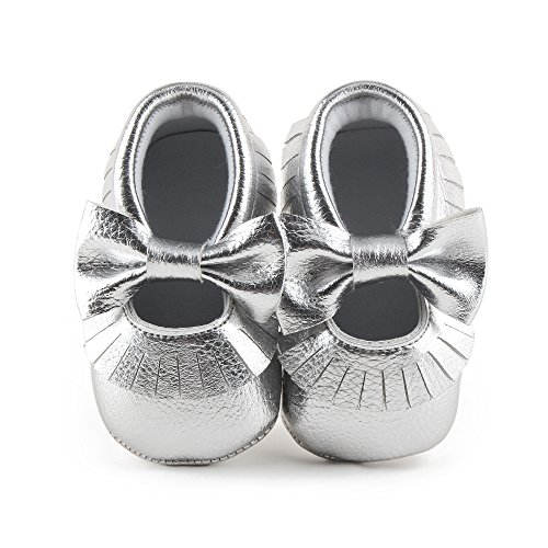 Roaays M Baby Girl Shoes Toddler Shoes Infant Mary Jane Flats (RM27G, 0_Months)