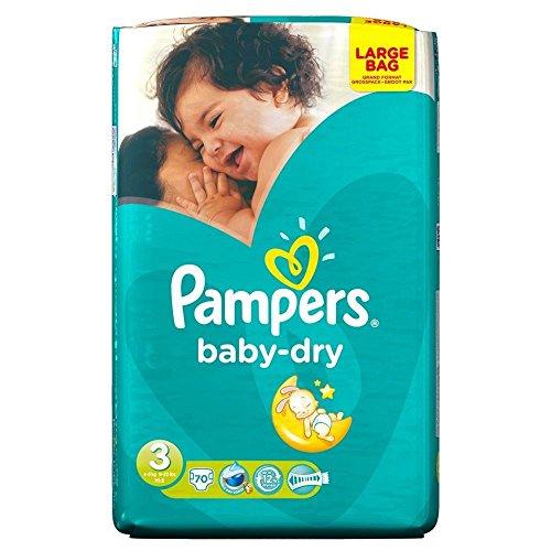 Pampers Baby Dry maat 3 Midi 4 – 9 kg (70), 6 stuks