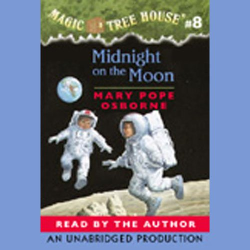 Midnight on the Moon audiobook cover art