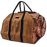 Camino legno borsa in feltro,Borsa per Tronch Totalizzatore 92x48,5cm,Borsa portalegna in Feltro giornali per legna da ardere da trasporto robusta