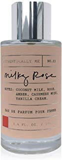 Authentically Me Apothecary Women's Perfume Spray - Milk Rose, 3.4 oz 100 ml - Be Authentically You with the Blending of Coconut Milk and Candied Orange Zest - Tru Fragrance & Beauty