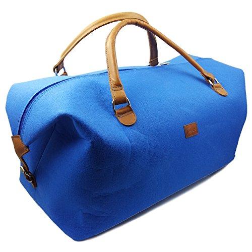 Handbagagetas voor reizen business vlucht, Blauw licht (blauw) - Handgepäck-Tasche aus Filz unisex