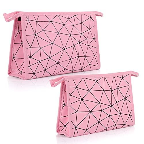 Bolsa de cosméticos, Comius Sharp Portátil Impermeable Maquillaje Bolsa Bolsa de Cosméticos de Viaje Multifunción Cosmético Bolsa de Almacenamiento Bolsa de Aseo para Viajes (Pink)