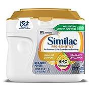 Similac Pro-Sensitive Infant Formula With 2'-Fl Human Milk Oligosaccharide (HMO) For Immune Support, 22.5 Oz