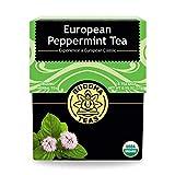 Buddha Teas Organic European Peppermint Tea | 18 Bleach-Free Tea Bags in Each | Made in the USA | Caffeine-Free | No GMOs by Inventory Management Services- HPC
