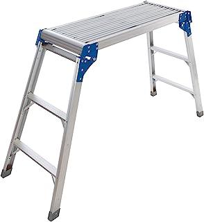 comprar comparacion Silverline 537366 Plataforma de aluminio, Plata