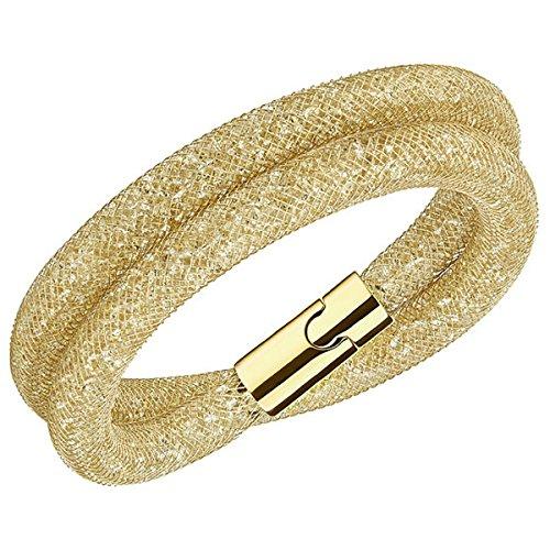 Swarovski Damen-Armband Glas Gold 40 cm - 5159277