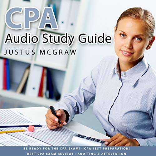 CPA Audio Study Guide audiobook cover art