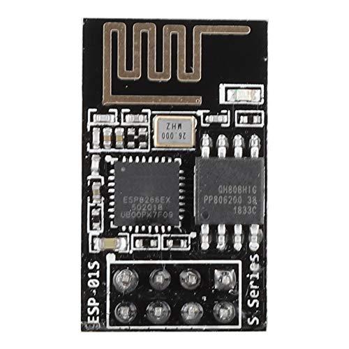 Oumij ESP8266 UART Seriell zu WiFi-Modul Drahtloses Transceivermodul Geringer Stromverbrauch, integrierter RISC-Prozessor, On-Chip-Speicher und Externe Speicherschnittstelle