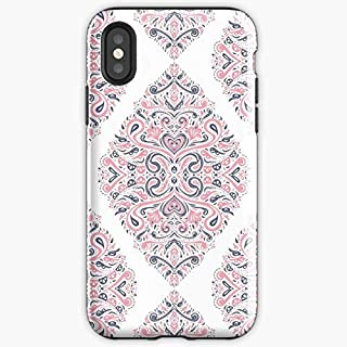 Arabic Ornaments Vector Curtains Persian - Apocalypse Phone Case Glass, Glowing For All Iphone, Samsung Galaxy-craxystore.