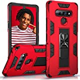 biteri Compatible with LG Stylo 6 Case with Kickstand Waterproof Shockproof Cover Heavy Duty Durable Hybrid Cases for Teens Women Men