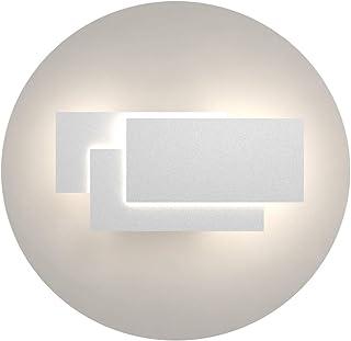 Klighten Appliques Murales Interieur LED Lampe 24W 1920LM Moderne Applique Murale pour Chambre Maison Couloir Salon Blanc ...