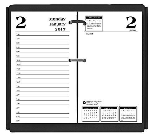 House of Doolittle 2017 Desk Calendar Refill, Daily, Economy, 3.5 x 6