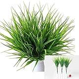 Androxeda 8 Bouquets Plantes En Plastique Artificielles Réalistes Faux Blé Herbe Verdure Arbustes En Plastique Artificiel pour...