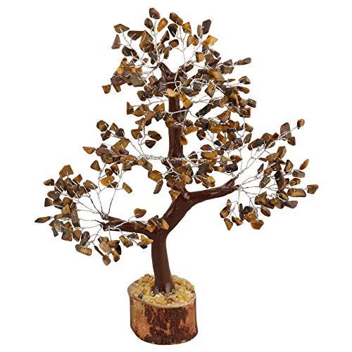 Chakra Natural Gemstone Beaded Tree Feng Shui Spiritual Money Tree Vastu Table Decor Crystals Healing