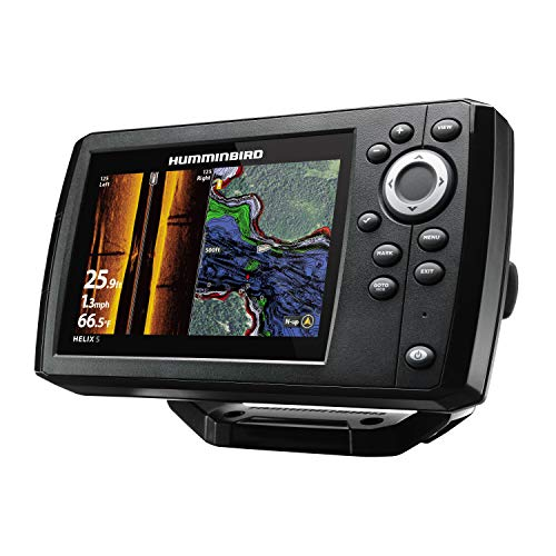 Humminbird 410230-1 Helix 5 Fish Finder, CHIRP, Si, GPS, G2