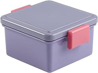 三好製作所 保冷剤一体型 ランチボックス GEL-COOL スタンダード パープル 220ml Sサイズ GC-071