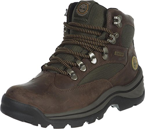 Timberland Damen Chocorua Trail Goretex Chukka Boots, Braun (Dark Brown/Green), 42 EU