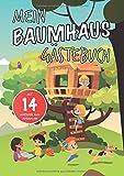 Mein Baumhaus Gästebuch Mit 14 Motiven zum Ausmalen Präsentiert von Ninchy Kids: Vorgefertigte...