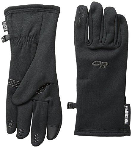 Outdoor Research Herren Backstop Sensor Handschuhe, Schwarz, Größe L