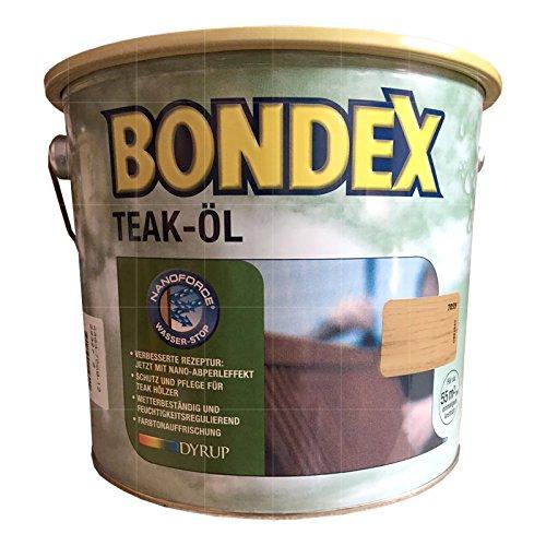 Bondex Teak-Öl Teak farblos 0,75 l - 330062