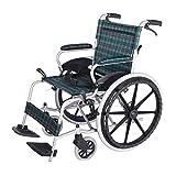 DLC@ED Tragbare Aluminiumlegierung, die manuelle Rollstuhl-untaugliche ältere Roller-Gehhilfen faltet Praktisch -